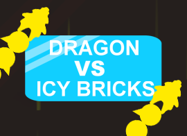 Dragon vs Icy Bricks